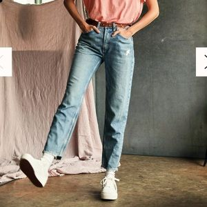 NWT ✨ Fast Times High Rise Mom Jeans in Acadia